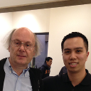 With Bjarne Stroustrup, Creator of the C++ Programming Language